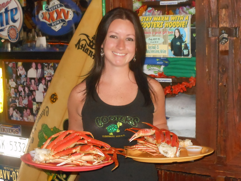 Cooters is Home of the All-U-Can-Eat Crab Legs Special!
