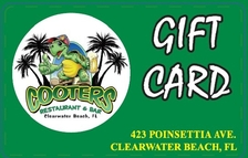 Cooters Gift Card