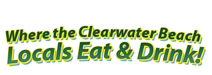 Where the clearwater beach locals eat & drink
